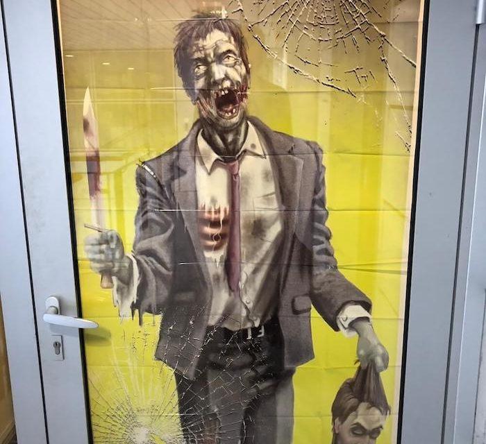 Ne jamais sous-estimer la créativité de ses collègues pour Halloween ?